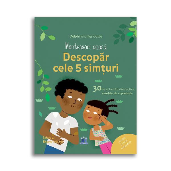 Pentru a profita din plin de binefacerile pedagogiei Montessori acas&259; autoarea v&259; propune o serie de jocuri pedagogice pe care le pute&539;i desf&259;&537;ura realizându-v&259; singuri materialele Abordând una dintre temele fundamentale ale pedagogiei Montessori ve&539;i g&259;si - o introducere în pedagogia Montessori - o poveste pentru a vorbi cu copilul pe marginea acestui subiect - 30 de activit&259;&539;i explicate pas cu pas
