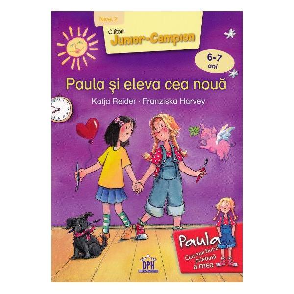 Paula î&537;i dore&537;te foarte mult s&259; aib&259; o prieten&259; cu care s&259; mearg&259; la &537;coal&259; &537;i c&259;reia s&259;-i spun&259; toate secretele Când în clas&259; vine Elena o coleg&259; nou&259; Paula e foarte fericit&259; Dar se ceart&259; cu ea &537;i pare c&259; nu vor putea fi niciodat&259; prietene Îns&259; într-o zi Paula are un necaz iar Elena e cea care îi sare în ajutor Editura DPH te