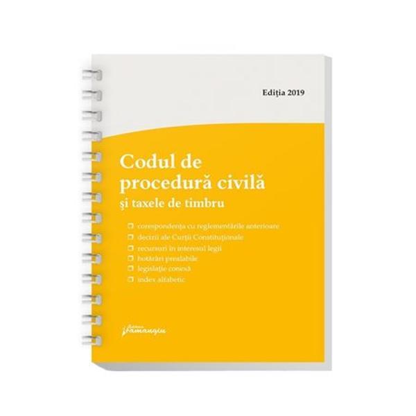 Codul penal Codul de procedura penala Legile de executarereuneste textele celor doua coduri penale in vigoare si pe langa acestea include si cele doua legi de executare a pedepselor a masurilor privative si neprivative de libertate – Legile nr 253 si nr 254 din 2013 toate actualizate la data de 6 septembrie 2019Ca toate lucrarile din seria de legislatie a Editurii HamangiuCodul penal Codul de procedura penala Legile de