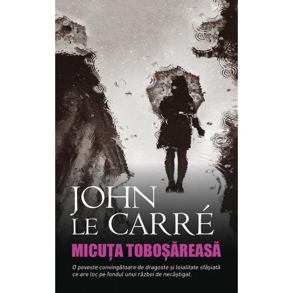 """Charlie este o tanara actrita engleza obisnuita sa joace roluri diferite Dar cand misteriosul Joseph o recruteaza in serviciile secrete israeliene ea intra in periculosul """"teatru al adevaruluiInterogatorii secrete inscenari elaborate conspiratii si crima Thrillerul de spionaj al lui John le Carre nu poate fi mai relevant - The GuardianMicuta tobosareasa este un roman despre modul in care bunele intentii pot fi tradate de"""