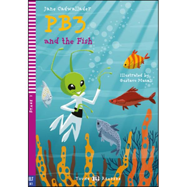 PB3 and his robot Robin are with their Earth friends Ben and Sue finding out about life at the beach Suddenly the evil OOs arrive in their spaceship and try to catch them In their hurry to escape the two ETs dive into the water and discover another world under the sea In their attempt to help some grey fish they put them in great danger Ben and Sue help them to understand but can they put the situation right again Syllabusbr
