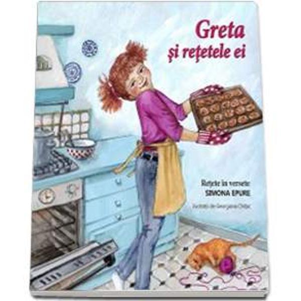 Greta si retetele ei face parte dintr-un proiect pe teme educationalePersonajul central este Greta o fetita simpatica si priceputa care ii va ajuta pe copii cu diverse sfaturiPornind de la ideea de joc Greta ii va invata pe cei mici diverse lucruri cu care se confrunta in viata de zi cu zi sa