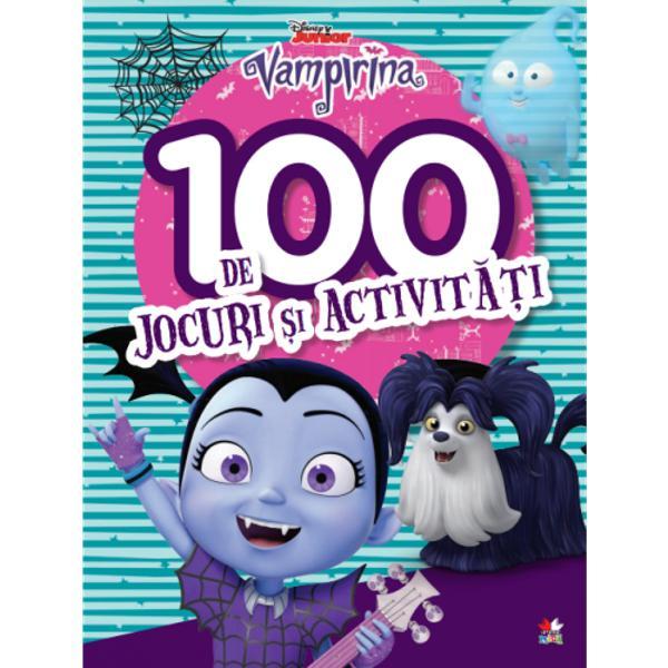 Bun venit în lumea fascinant&259; a VampirineiÎn aceast&259; carte minunat&259; vei g&259;si 100 de jocuri diferite a&537;a c&259; distrac&539;ia e garantat&259;