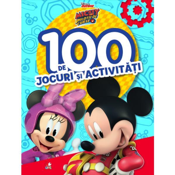 Bun venit în lumea plin&259; de aventuri a lui MickeyÎn aceast&259; carte minunat&259; vei g&259;si 100 de jocuri diferite a&537;a c&259; distrac&539;ia e garantat&259;