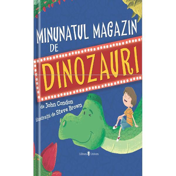 Danny î&351;i dore&351;te un nou animal de companie dar nu vrea o pisic&259; sau un câine &351;i nici m&259;car un papagalvrea un dinozaurDar se dovede&351;te c&259; dinozauriinu sunt animale care pot fiîngrijite atât de u&351;or…