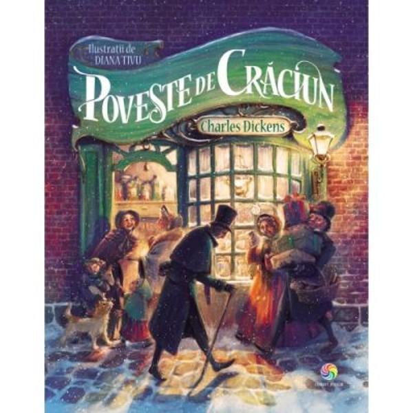 Povestea de Craciunde Charles Dickens a fost publicata cu foarte multi ani in urma De atunci este citita cu incantare de copii si de parinti iar farmecul ei se arata si mai mult in preajma sarbatorilor Este povestea unui batran morocanos si zgarcit Ebenezer Scrooge pe care nimic nu pare sa il mai multumeasca In noaptea de Ajun este vizitat de stafia fostului sau partener de afaceri Jacob Marley apoi de inca trei spirite Acestea ii arata lui Scrooge cum poate rascumpara