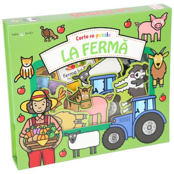 Bogat&259; &238;n ilustra&539;ii viu colorate 15 piese de puzzle &537;i lucruri de g&259;sit aceast&259; carte este perfect&259; pentru copiii care vor s&259; afle mai multe despre ferm&259;