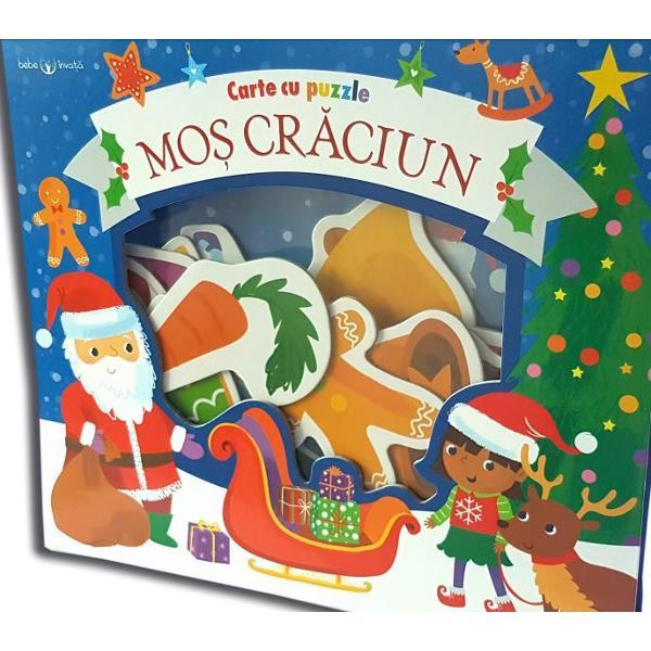 Bogat&259; &238;n ilustra&539;ii viu colorate 15 piese de puzzle &537;i lucruri de g&259;sit aceast&259; carte este cadoul perfect pentru copii de Cr&259;ciun