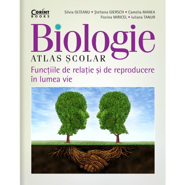 Biologie Atlas &351;colar Func&355;iile de rela&355;ie &351;i de reproducere în lumea vieeste realizat în concordan&355;&259; cu obiectivele noii programe &351;colare de biologie Lucrarea se adreseaz&259; în special elevilor de clasa a VII-a fiind un excelent instrument de lucru acas&259; sau la &351;coal&259; atât pentru ace&351;tia cât &351;i pentru profesorul de biologiePrin con&355;inutul &351;tiin&355;ific