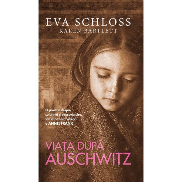 Viata dupa Auschwitz este o relatare uimitoare a vietii Evei Schlossincepand cu anii de dinainte de cel de-al Doilea Razboi Mondial apoisupravietuirea la Auschwitz si mai tarziu munca ei cu Fundatia AnneFrank Admirabil de sincera si teribil de socanta acrtea dezvaluietragediile pe care Schloss lea- indurat si cum a reusit sa-si recapeteviata dupa aceea Calatoria ei este o lectie de speranta siperseverenta chiar si in cele mai intunecate ore