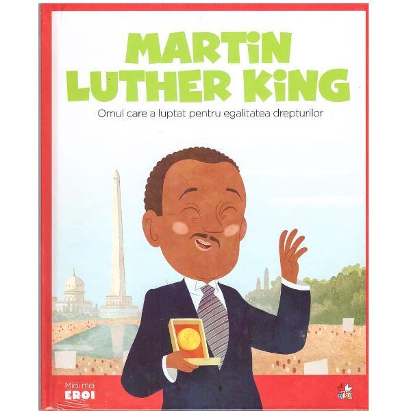 &206;nc&259; de mic Martin Luther King a &537;tiut foarte clar care este visul s&259;u cel mai de pre&539; acela ca to&539;i oamenii s&259; aib&259; drepturi egale indiferent de culoarea pielii De&537;i &238;n zilele nostre acesta este un lucru normal nu &238;ntotdeauna a fost a&537;a Au fost timpuri &238;n care anumi&539;i oameni au considerat c&259; persoanele de alt&259; culoare sunt inferioare &537;i merit&259; un tratament diferitMartin Luther King &537;i-a