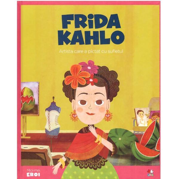 Frida Kahlo s-a n&259;scut &238;n Mexic &537;i a crescut &238;n timpul perioadei violente a Revolu&539;iei mexicane La 18 ani un accident de circula&539;ie foarte grav aproape o cost&259; via&539;a Pus&259; complet &238;n ghips &537;i obligat&259; s&259; r&259;m&226;n la pat luni &238;ntregi se dedic&259; picturii Subiectele preferate sunt propria persoan&259; suferin&539;a &537;i Mexicul Frida a pictat sute de autoportrete minunate de-a lungul vie&539;ii