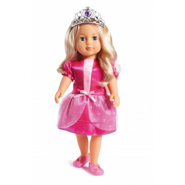 Papusa Mariaeste cea mai buna prietena a fetitelor Le insoteste in noi aventuri calatorii si se joaca impreuna de-a printesele Are mereu tinute colorate si frumos asortate Maria este imbracata intr-o rochie de printesa roz Are o oglinda un piaptam si un spray pentru par cu care se aranjeaza de fiecare data Frumoasa papusa Maria are parul blond ochii mari si albastri Seara adoarme devreme pentru a fi pregatita de noi aventuri iar daca apesi butonul de pe