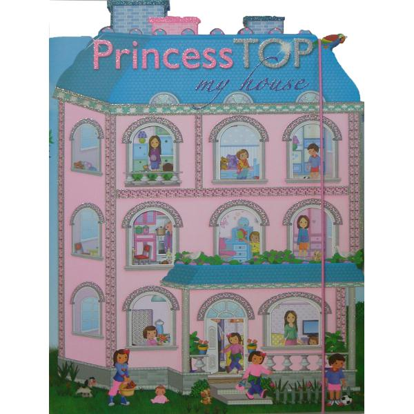 Princess TOP - My house bleu