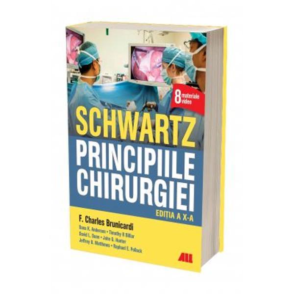 Cel mai important text de chirurgie din lume – actualizat incluzând asisten&539;a chirurgical&259; modern&259; bazat&259; pe dovezi &537;i ghidarea înleadershippentru medicii reziden&539;i &537;i chirurgii practicieniA X-a edi&539;ie a tratatului Schwartz – Principiile chirurgiei men&539;ine abordarea f&259;r&259; egal a fundamentelor