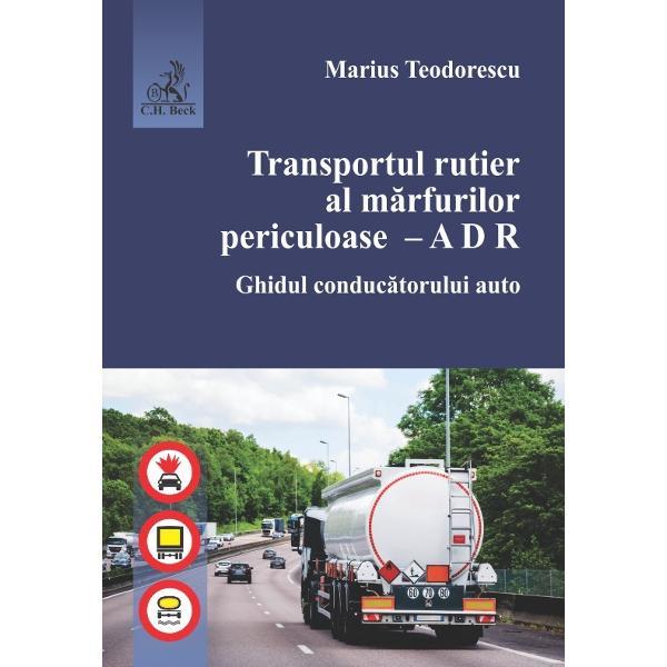 Lucrarea prezint&259; prevederile acordului ADR cu modific&259;rile &537;i complet&259;rile din anul 2019 precum &537;i recomand&259;ri pentru efectuarea eficient&259; &537;i în siguran&539;&259; a transporturilor de c&259;tre conduc&259;torul autoEste deosebit de util pentru conduc&259;torii auto s&259; poat&259; accesa cu u&537;urin&539;&259; informa&539;ii pentru fiecare clas&259; de m&259;rfuri periculoas&259; transportat&259; s&259; poat&259;