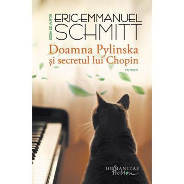 """""""O splendid&259; poveste ini&539;iatic&259; muzical&259; &537;i oniric&259; a&537;a cum numai Eric-Emmanuel Schmitt &537;tie s&259; scrie"""" –Point de VueObsedat de o amintire din copil&259;rie &537;i fascinat de Chopin tân&259;rul Eric-Emmanuel se hot&259;r&259;&537;te s&259; ia ore de pian Dup&259; un început cu stângul doamna Pylinska exotica &537;i intransigenta profesoar&259; polonez&259; stabilit&259;"""