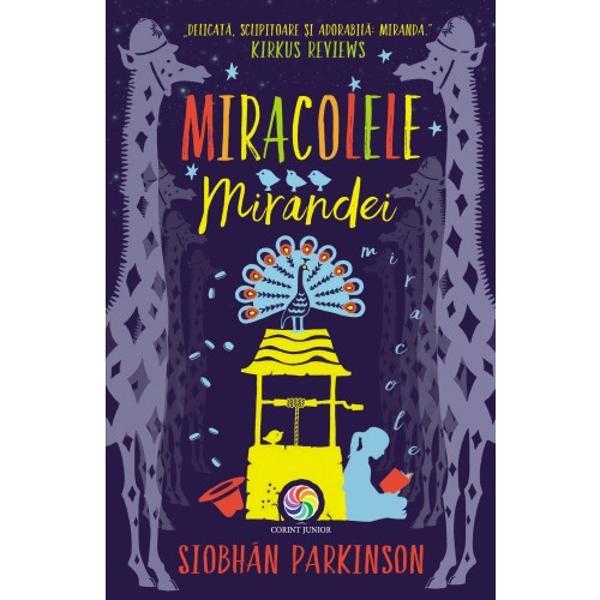 """Miranda Maguire a n&259;scocit un t&259;râm în care pove&537;tile nu se sfâr&537;esc niciodat&259;Pe m&259;sur&259; ce scrie despre lumea ei imaginar&259; câteva miracole încep s&259; se produc&259; &537;i în lumea real&259;Va reu&537;i Miranda s&259; produc&259; &537;i un miracol care s&259; o salveze pe sora ei bolnav&259;""""Parkinson &537;tie exact cum s&259;-i captiveze pe copii cu aceast&259; poveste"""