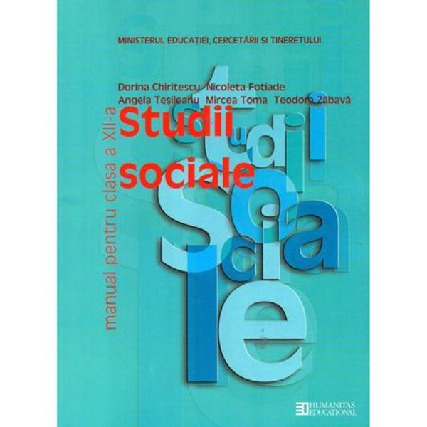Studii sociale clasa a XII-a