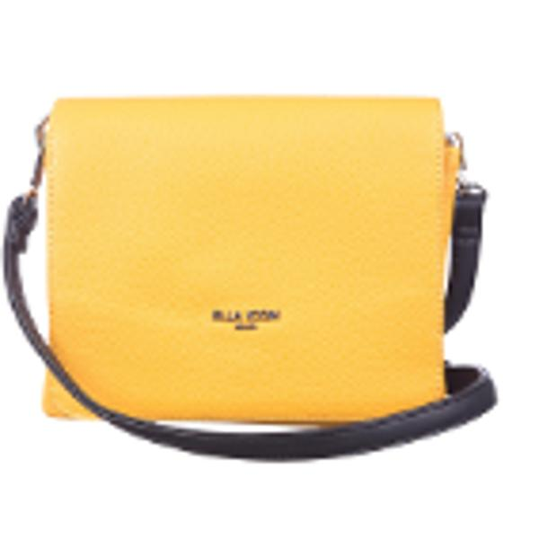 Geanta de dama din piele ecologica cu doua compartimente La interior geanta are trei buzunare din care unul prevazut cu fermoarBretea de umar ajustabila