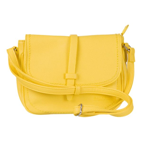 Geanta de dama din piele ecologica cu inchidere cu fermoar La interior geanta are trei buzunare din care unul prevazut cu fermoarBretea de umar ajustabila