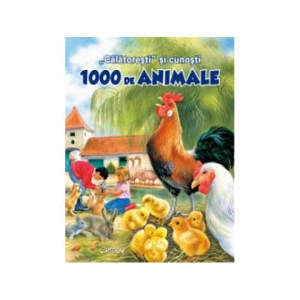 C&259;l&259;tore&351;ti &351;i cuno&351;ti 1000 de animale v&259; va dezv&259;lui via&355;a animalelor domestice &351;i s&259;lbatice surprins&259; &238;n cele patru anotimpuri &238;n habitatele &238;n care tr&259;iesc Antrenant&259; pe alocuri plin&259; de haz cartea &238;i va captiva cu siguran&355;&259; pe cei mici dar &351;i pe p&259;rin&355;i deopotriv&259; S&259; r&259;sfoim &238;mpreun&259; paginile &238;nc&226;nt&259;tor ilustrate &351;i s&259;