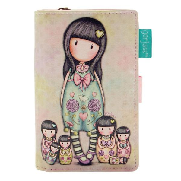 Portofel mic Gorjuss Seven SistersCea mai draguta solutie pentru problema pastrarii lucrurilorDimensiuni&160;14x9x3 cm