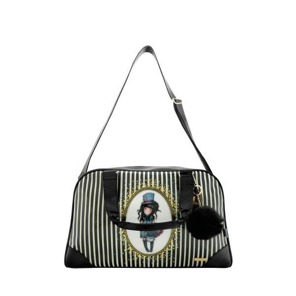 Gorjuss Stripes Geanta -The HatterStilata si sofisticata aceasta geanta este modul perfect pentru a-ti tine bunurileDimensiuni 24x36x14 cm