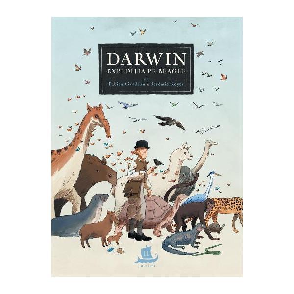 Londra 1831 Viitorul naturalist Charles Darwin se pregateste pentru expeditia vietii lui Vasul Beagle are sa-l poarte peste Atlantic de-a lungul coastelor Americii de Sud spre Arhipelagul Galapagos Noua Zeelanda Australia si prin sudul Africii dandu-i prilejul sa studieze fascinantele specii de animale care populeaza pamantul si sa descopere fosilele gigantice ale unor ciudate mamifere disparute Dar aceasta calatorie insufletita de promisiunea unor descoperiri stiintifice
