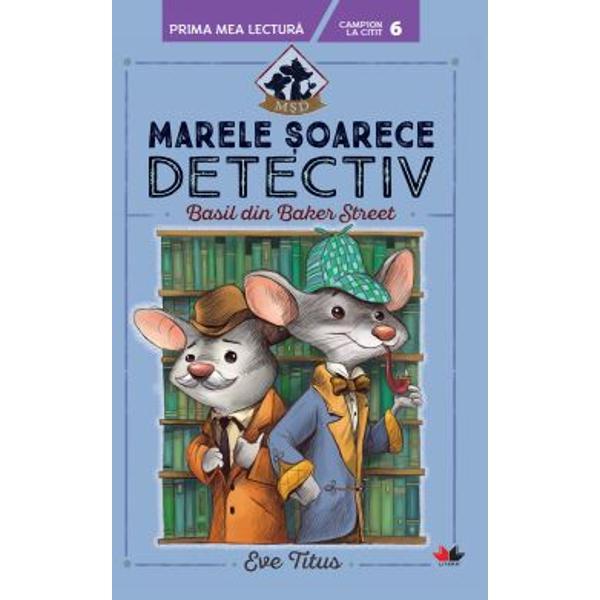 Face&539;i cuno&537;tin&539;&259; cu Basil &537;oarecele detectiv cu fler extraordinar care locuie&537;te chiar în pivni&539;a casei lui Sherlock Holmes de pe Baker Street Acolo se afl&259; minunatul &537;i lini&537;titul or&259;&537;el de &537;oricei Holmestead Când gemenele Agatha &537;i Angela sunt r&259;pite Basil &537;tie c&259; nu are nicio clip&259; de pierdut Trebuie cu orice pre&539; s&259; le g&259;seasc&259; repede c&259;ci e în joc