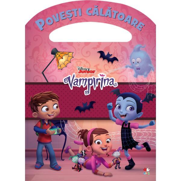 D&259; frâu liber imagina&539;iei &537;i intr&259; în lumea filmelor DisneyCite&537;te aventura Vampirinei &537;i completeaz&259; activit&259;&539;ile cu personajele tale preferate Distrac&539;ie pl&259;cut&259;