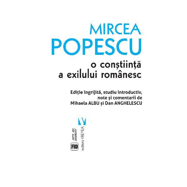 """Un """"portret"""" al unuia dintre """"marii necunoscu&539;i ai culturii române"""" Mircea Popescu cel c&259;ruia scria Monica Lovinescu ar trebui s&259; i se dedice """"capitole &537;i c&259;r&539;i"""" iar Mircea Eliade spera c&259; peste timp """"prietenii vor avea grij&259; s&259; adune într-un volum m&259;car o parte din aceste studii &537;i articole c&259;ci nu sunt mul&539;i italienizan&539;i &537;i comparati&537;ti de statura"""