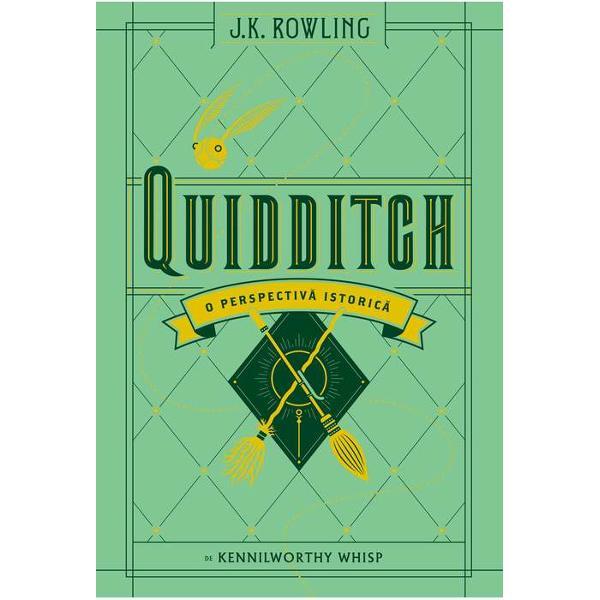 Dac&259; te-ai întrebat vreodat&259; de unde vine smiciul de aur cum au ap&259;rut bulg&259;rii din Quidditch sau de ce au Hoinarii din Wigtown satâre de m&259;celari pe robele lor ai nevoie deQuidditch O perspectiv&259; istoric&259; E o carte nepre&539;uit&259; consultat&259; aproape în fiecare zi de fanii joculuiDrepturile de autor pentru aceast&259; carte vor ajunge la Comic Relief &537;i la funda&539;ia