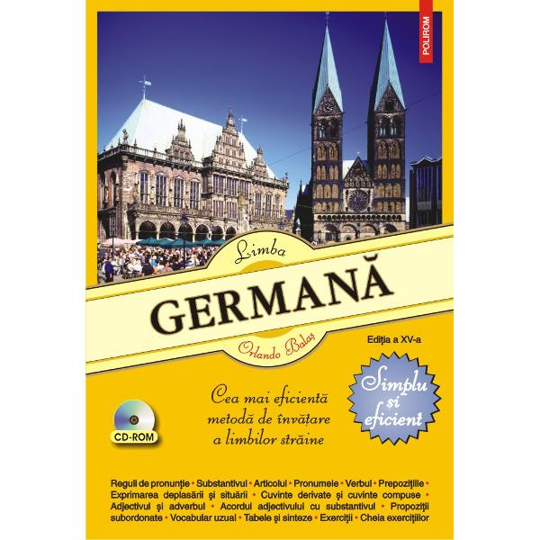 Destinat&259; deopotriv&259; elevilor studen&539;ilor &537;i autodidac&539;ilorLimba german&259; Simplu &537;i eficientprezint&259; într-un limbaj accesibil &537;i într-o succesiune logic&259; principalele elemente de gramatic&259; german&259; pe care le ilustreaz&259; cu numeroase exemple din vorbirea de zi cu zi &537;i cu exerci&539;ii utile pentru fixarea no&539;iunilor înv&259;&539;ate Cheia exerci&539;iilor v&259; permite