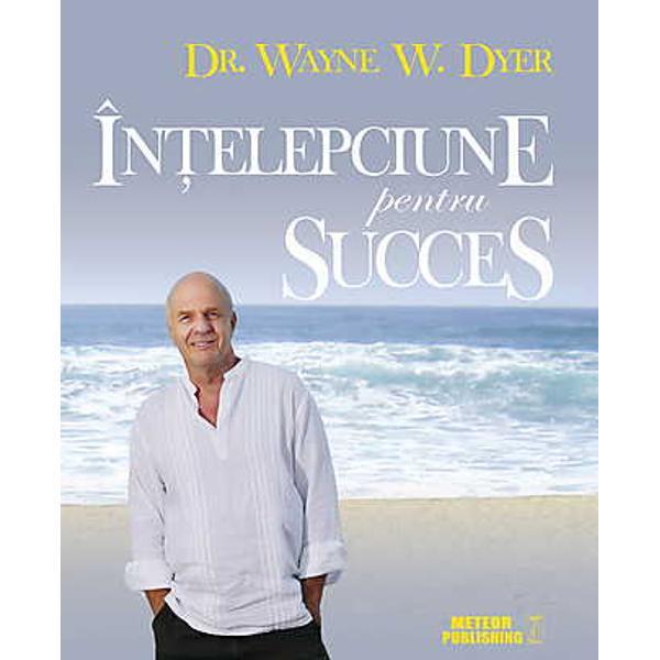 In acest volum Wayne W Dyer va ofera o multitudine de informatii care va vor ajuta sa aveti succes in toate domeniile personal profesional si spiritual Folosind gandurile pozitive in viata de zi cu zi veti observa imbunatatiri la dumneavoastra insiva si veti deveni o sursa de inspiratie pentru cei din jur Deschideti la orice pagina si absorbiti aceste sfaturi pentru succes in fiecare zi Inaintati plin de incredere pe drumul catre propriile visuri pentru a avea viata pe care v-ati