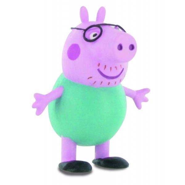Figurina Comansi - Peppa Pig - Tata Peppa PigCaracteristici&160;Dimensiune&160;7 cmMaterial PlasticVarsta recomandata 3 ani