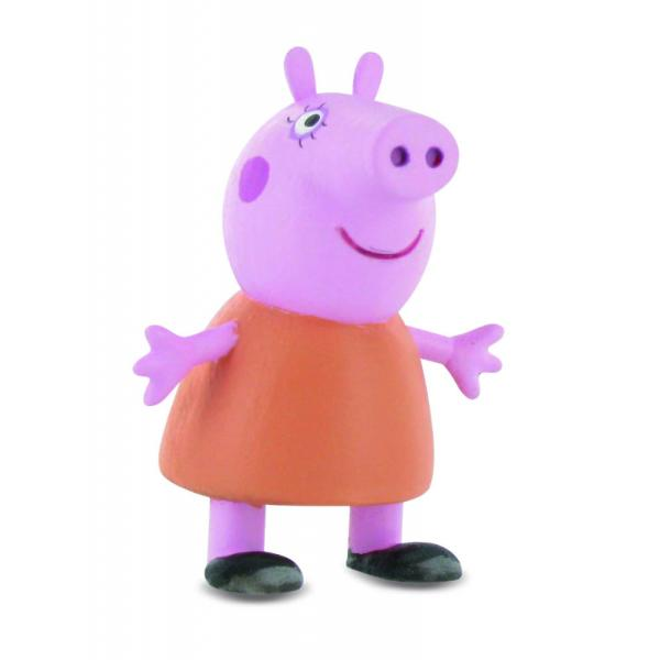 Figurina Comansi - Peppa Pig - Mama Peppa PigCaracteristici&160;Dimensiune&160;65 cmMaterial PlasticVarsta recomandata 3 ani