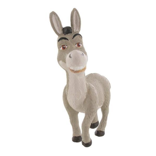 FigurinaShrek-Donkey este reprezentarea simpaticului magarus din filmulShrek Aventurile capcaunului si ale prietenului sau Donkey sunt aduse in fata iubitorilor acestui film printr-o astfel defigurina Cu un zambet cuceritor magarusul lui Shrek este o piesa perfecta pentru colectionarii defigurineCOMANSI Fiind un exemplu al prieteniei si loialitatii adevarate Donkey este si un cadou potrivit pentru