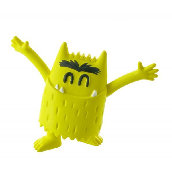 Figurina Comansi The Color Monster Happy Monster Yellow este alegere perfecta pentru cei mici Astfel aceasta figurina este un mic monstru colorat galben si acesta este intruchiparea sentimentului de fericire Aceasta figurina este formata dintr-o singura culoare deoarece aceasta transmite un singur sentiment acela de fericire Micutul monstru galben ii poate ajuta pe cei mici sa isi arate sentimentele sa isi dea seama de ceea ce simt si sa transmita sentimente