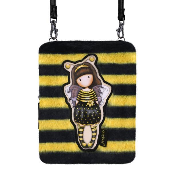 Geanta cu barete lungi Gorjuss Furry Bee LovedMaterial Poliester si piele ecologicaDimensiuni&160;175x13x6&160;cm&160;Varsta recomandata 3 aniColectie Gorjuss&160;Furry cu blanitaPersonaj Gorjuss Bee Loved
