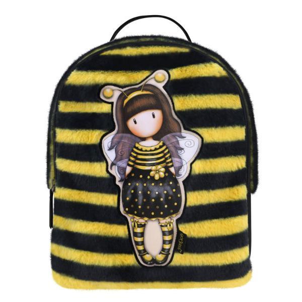 Rucsac fashion Gorjuss Furry Bee LovedMaterial Poliester si piele ecologicaDimensiuni 27x22x11 cm&160;Varsta recomandata 3 aniColectie Gorjuss&160;Furry cu blanitaPersonaj Gorjuss&160;Bee Loved