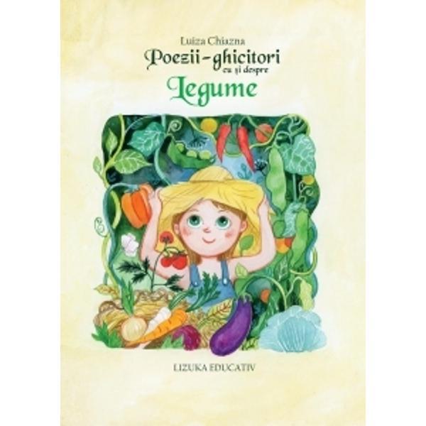 Legumele sunt roadele pamantuluiFrumos ilustrata carte aduna paisprezece poezii vesele care le vor face cunostinta micilor cititori cu minunata lume a legumelor