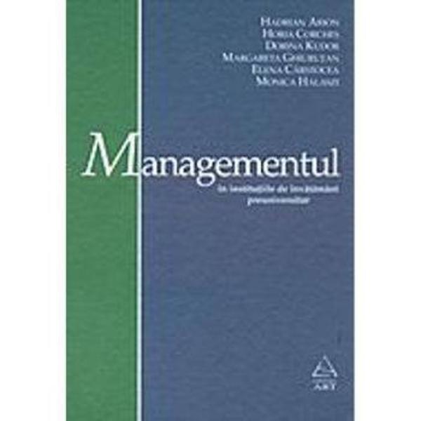 Managementul in inst de invat preuniv