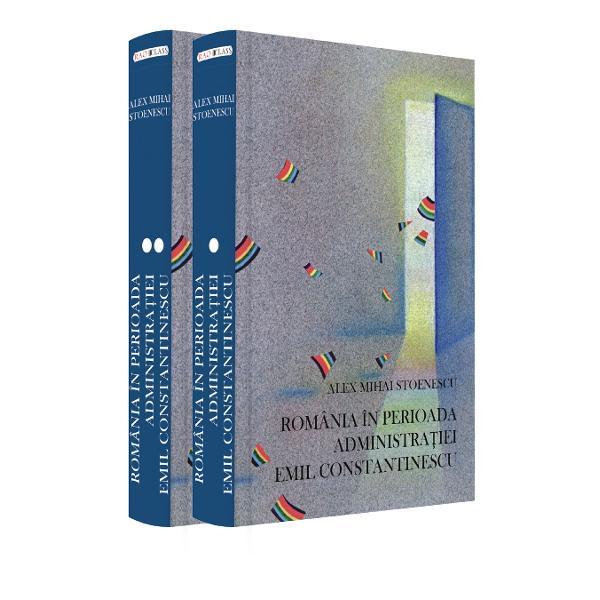 """""""A scrie dup&259; rigorile disciplinei istorice sau dup&259; metodele a ceea ceMarc Bloch numea «meseria de istoric» o carte monografic&259; de peste 1000 de pagini despre România în perioada Administra&355;iei Pre&351;edinteluiEmil Constantinescu este un act de curaj intelectual  Evident caorice lucrare de istorie cartea nu se limiteaz&259; la reconstituireaevenimentelor celor patru ani ci plaseaz&259; în"""
