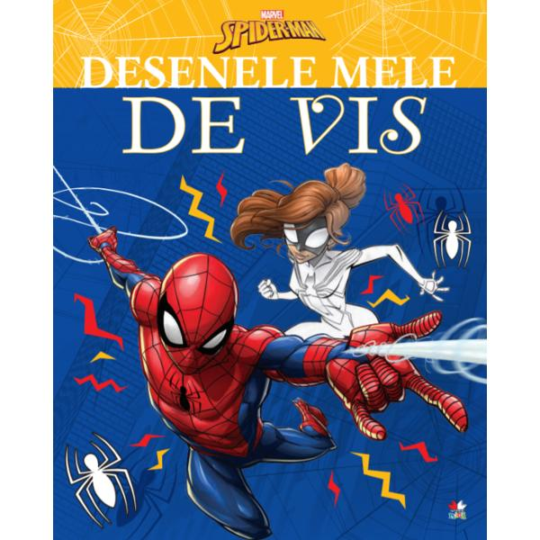 Avânt&259;-te pe t&259;râmul magiei &537;i completeaz&259; desenele din aceast&259; minunat&259; carte de colorat Te vei întâlni cu Spider-Man &537;i eroii t&259;i prefera&539;i Preg&259;te&537;te-&539;i creioanele colorate