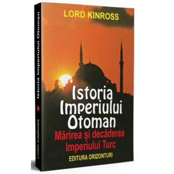Aceast&259; carte prezint&259; spectaculoasa m&259;rire &351;i dec&259;dere a unuia dintre cele mai mari imperii din istoria lumii Imperiul Otoman a prins contur în anul 1300 sub legendara conducere a lui Osman I atingând apogeul în secolul al XVI-lea sub domnia lui Suleiman Magnificul careajunsepân&259; la por&355;ile Vienei începând apoi s&259; piard&259; din m&259;re&355;ie pân&259; când ultimul s&259;u