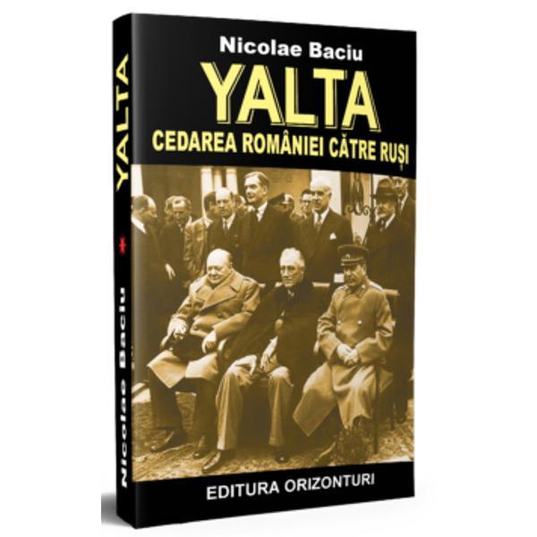 Toate documentele politice &351;i militare ultrasecrete din arhivele de la Londra &351;i Washington desecretizate dup&259; treizeci sau treizeci &351;i cinci de ani privind soarta României sunt examinate de autor &351;i în parte transcrise în cartea de fa&355;&259; publicat&259; înaintea Revolu&355;iei din decembrie 1989 când românii &351;i-au cucerit libertateaAceste acte pun într-o lumin&259; nou&259; multe dintre evenimentele