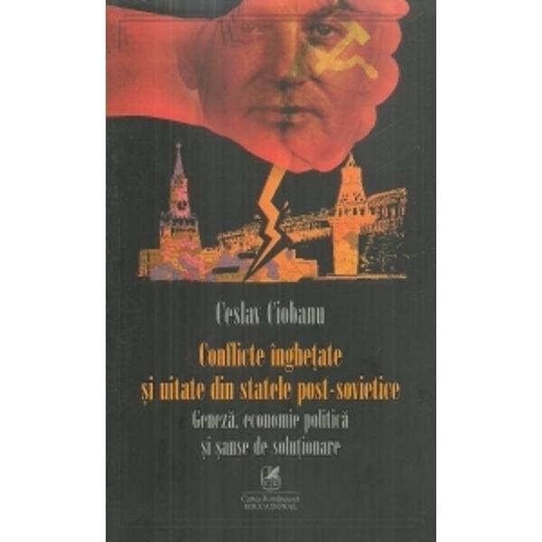 Situatiile nelinistitoare si incerte inca persista in fostele state sovietice Moldova Georgia Armenia si Azerbaidjan reprezentand o amenintare serioasa pentru stabilirea societatii civile si a institutiilor democratice precum si pentru respectarea drepturilor omului
