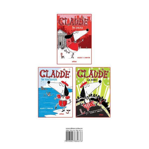 Iat&259;-l pe Claude un c&259;&539;el deloc obi&537;nuitIese la plimbare în ora&537; &537;i devine erouvolumul 1O vacan&539;&259; la malul m&259;rii se dovede&537;te a fi pentru Claude mult mai distractiv&259; decât se a&537;tepta din clipa în care întâlne&537;te pira&539;i navigheaz&259; în dep&259;rt&259;ri &537;i descoper&259; o comoar&259;volumul 2O