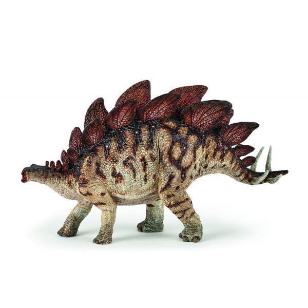 Figurina Papo-Dinozaur Stegosaurus este o jucarie pentru copiiDimensiuneLxh 22x105cmRecomandat 3 ani